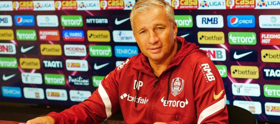 Dan Petrescu a revenit ca antrenor la CFR Cluj